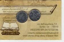 repubblica moneta 50 lire 1990 acmonital diametro 16,55 mm.