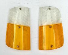Volvo 240, 260 Indicator Lens (Front Right & Left) European. PN: 1215710 1215711