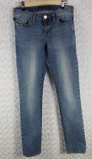 ROCK & REPUBLIC Berlin Slim Skinny Blue Denim Jeans Womens Size 8 M 29 x 31 SE25