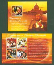 Santo Tomé + principe 2007-luciano pavarotti-Lady Diana-bono-Spice Girls