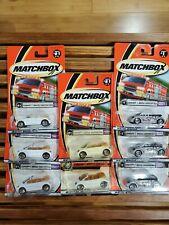 Matchbox Volkswagen Concept 1 Convertible Lot w/ Lots of Wheel Variations.