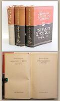 Romain Rolland 3 Bände Johann Christof in Paris & Jugend & Aufsätze 1950/51 xz