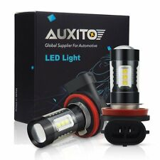 2X Auxito H11 H9 H8 Led Fog Light Drl Driving Bulbs Replace Halogen 6500K 4000Lm