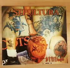 SEPULTURA 'ATTITUDE' - CD SINGLE WITH FIRST DAY COVER STAMP!