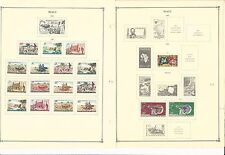Mali Collection 1960-1965 on 15 Scott International Pages (Stuck To Pages)