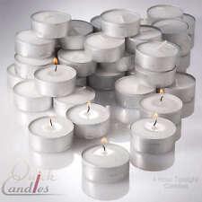 Paraffin Wax Unscented Candles & Tea Lights