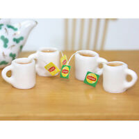 1Pc 1:12 Resin Dollhouse Mini Tea Cup Miniature Dollhouse Accessories Cups  Nd