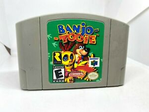 Banjo-Tooie N64 (Nintendo 64, 2000) Authentic, Cleaned & Working!