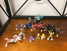 1990's Vintage Micro Machines Mighty Morphin Power Rangers - 16 pieces