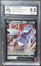 POKEMON - CGA 9.5 - DURALUDON V - 047/073 - CHAMPIONS PATH - GRADED PSA CGC BGS