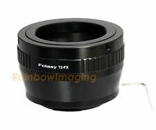 Adjustable T2 T Lens to Fuji Fujifilm X X-Pro2 X-E2 X-T1 X-T10 Adapter