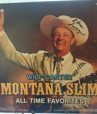 Wilf Carter Montana Slim All Time Favorites 1982 RCA Record DVL 1-0584