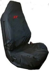 EMBROIDERED RECARO CAR SEAT COVER 2013 on FORD FOCUS & FIESTA ST 2/3 AIRBAG SAFE