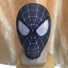 Spider-Man Mask 3D Eye Props Superhero Halloween Cosplay Costume Full Head Mask