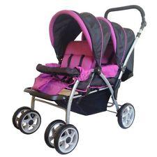 Carritos y artículos de paseo color principal rosa para bebés