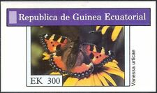 Equatorial Guinea 1975 Butterflies/Insects/Nature/Butterfly imperf m/s (b957)