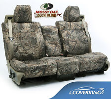 NEW Full Printed Mossy Oak Duck Blind Camo Camouflage Seat Covers / 5102028-11
