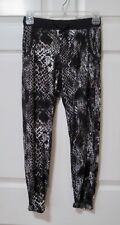 Justice Casual Lounge Pants Black Gray 100% Soft & Cozy Rayon   Girl's Size 10