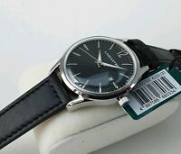Orologio LANCASTER PARIS Style Vintage Acciaio Black Unisex Watch €100 NUOVO