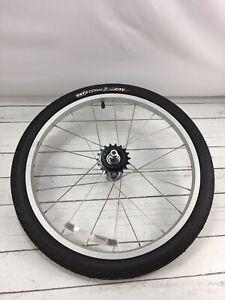 Burley Kazoo Trailercycle Tag Along Trailer Bike Tire Wheel
