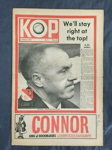 Liverpool FC  -  KOP Newspaper  -  January 4th 1967 -  Issue No 9