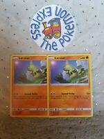 Pokémon TCG x2 Larvitar #115/214 SM: Lost Thunder Mint English Fighting