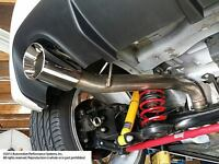 "Neu-F  2.5"" Turbo Race Exhaust  '12+ Fiat 500 Abarth/500T"