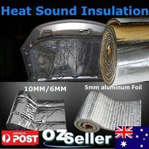 Heat Noisy Sound Insulation Proofing Damping 10MM/6MM/5MM Car Van Roof Hood Door