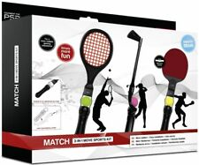 SPEEDLINK match 3in1 Sports kit tenis golf para ps4 ps3 Move motion controller
