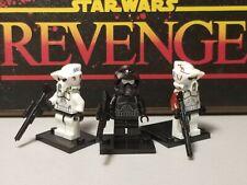 ARF rare custom Clone Troopers lot 3 minifigures Star Wars skywalker USA
