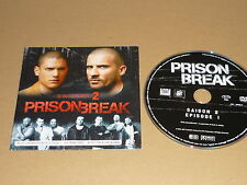 *PRISON BREAK SAISON 2 DVD PROMOTIONNEL CHASSE A L'HOMME