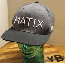 1110cc06ac3c7 NICE GRAY BLACK MATIX CLOTHING HAT SNAPBACK EMBROIDERED VERY GOOD CONDITION  YB