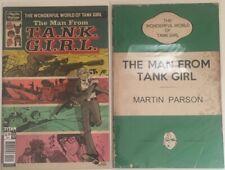 The Wonderful World Of Tank Girl #3 Cover A + Bookshelf Variant Bagged & Backed!