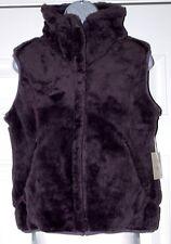 New Ailin $295 Thermal Pro Plush Vest Jacket Purple X small