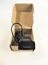 SecuGen Hamster Black Pro 20 USB Fingerprint Reader for Biometry Security B19