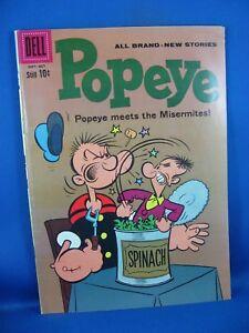Popeye #55 (Sep-Oct 1960, Dell) VG F