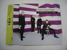 WET WET WET - IF I NEVER SEE YOU AGAIN - CD SINGLE PROMO 1997 EXCELLENT