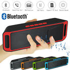 WIRELESS BLUETOOTH SPEAKER HIGH BASS PORTABLE TF/FM/USB/AUX STEREO LOUDSPEAKER