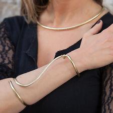 Extra Wide MINIMAL & ELEGANT Luxury Handmade Bangle cuff bracelet- Gold plated
