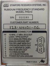 Stanford Research Prs 10 Rubidium Frequency Standard