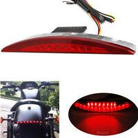 Feu Arrière Moto Stop Freinage éclairage Lampe Lumière Pour Harley FXSB 2013-17