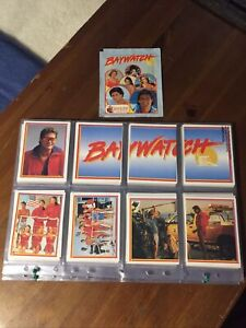 Baywatch Complete Sticker Set With a Sealed Pack. By Merlin