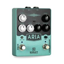 Keeley Aria Compressor Overdrive Pedal Brand New from AUTHORIZED Keeley Dealer!
