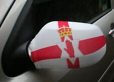 CAR WING MIRROR SOCKS FLAGS, COVERS, FLAG-UPS! - NORTHERN IRELAND N.IRISH