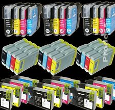 Cartouches compatibles Brother Lc980bk Lc980c Lc980m Lc980y- Lc1100