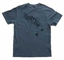 RVCA BALLISTIC Mens T-Shirt Medium Bourgeois Blue NEW