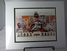 "100 Year Anniversary Collage Cleveland Indians 8"" x 10"" Photo  Matted 11"" x 14"""