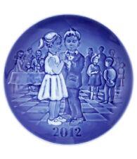Bing & Grondahl 2012 Children's Day Plate NIB End Of Season Dance NEW IN BOX