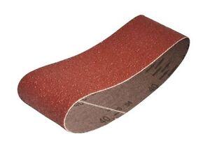 Faithfull - Cloth Sanding Belt 400 x 60mm 40g (Pack of 3) -