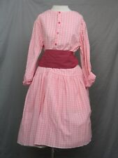 Victorian Dress Edwardian Civil War Prairie Western Style Blouse & Skirt